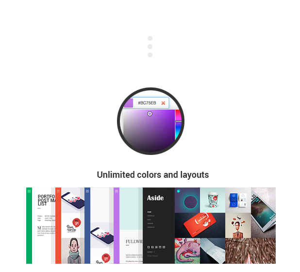Aside - Photo Portfolio Sidebar WordPress Theme - 11
