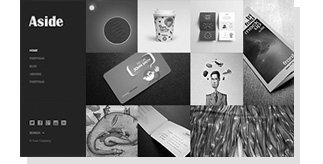 Aside - Photo Portfolio Sidebar WordPress Theme - 9
