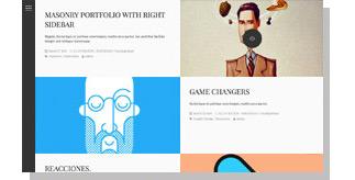 Aside - Photo Portfolio Sidebar WordPress Theme - 7