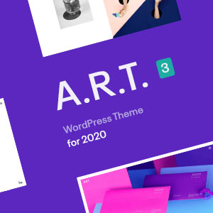 ART WordPress Theme New Update